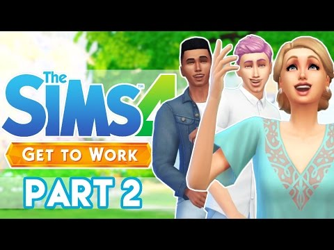 The Sims 4 Get To Work -Part 2- Medical Intern!