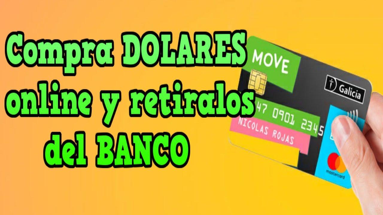 🐱🏍Como abrir una cuenta en GALICIA MOVE - PASO A PASO | Caja de ahorro en DOLARES GRATIS