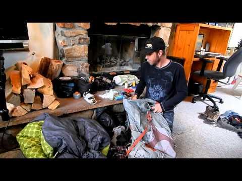 John Muir Trail Hiking Gear 2014 (32 lbs.)