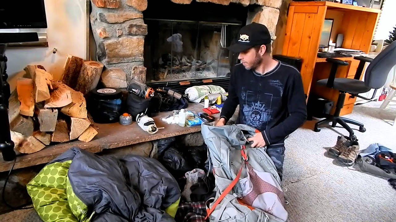 John Muir Trail Hiking Gear 2014 32 lbs  YouTube