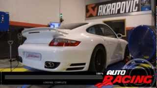 Porsche 997 Turbo ligne Akrapovic by Dijon Auto Racing