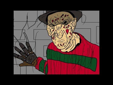 Freddy KruegerNightmare On Elm Street Animated Short Film!