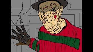 Freddy Krueger/Nightmare On Elm Street Animated Short Film!