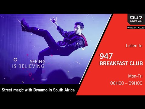 Street magic with Dynamo in South Africa