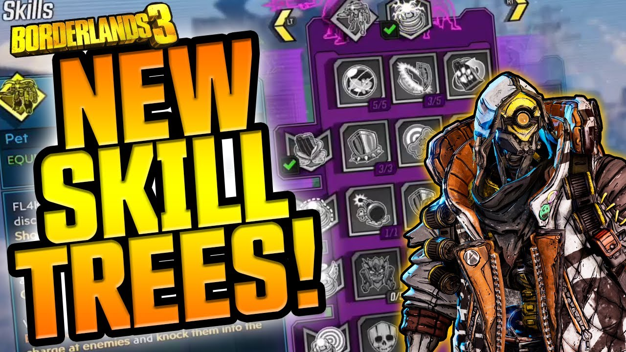 Borderlands 3 | NEW SKILL TREES, NEW GAME MODE & MORE?! thumbnail