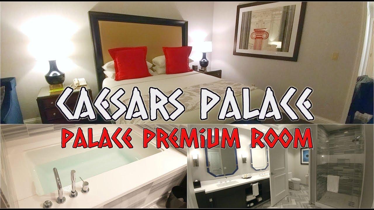 Caesars Palace Las Vegas Palace Premium Room Tour