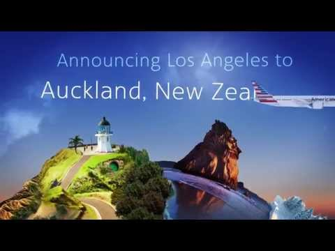 Announcing service from Los Angeles to Auckland, New Zealand
