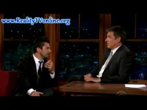 Dominic Cooper [ part 5 ] The Late Late Show with Craig Ferguson - Patricia Arquette10/01/2009