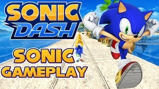 Sonic Dash (PC) - Sonic Gameplay