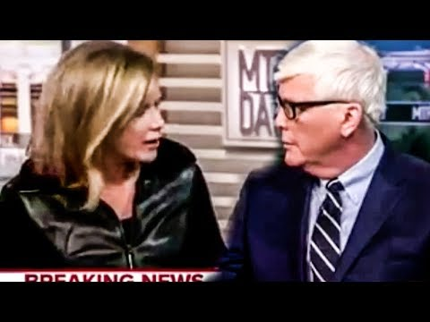 Hugh Hewitt Shows Pathological Response To Violence During Interview