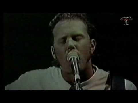 Metallica  - Nothing Else Matters - (Unplugged) -  Bridge School Benefit - 1997