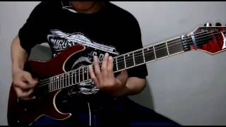 Heaven Shall Burn - A River of Crimson Guitar Cover (NEW SONG 2016)