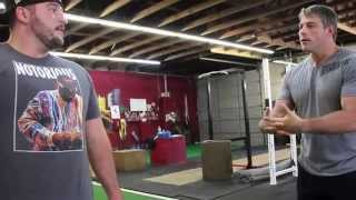 John Welbourn from PowerAthleteHQ.com explains how the SlingShot Hip Circle can be used in Athletics
