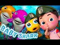 Baby Shark faster Dance | Sing and Dance! | Animal Songs | Banana Cartoon Songs for Children