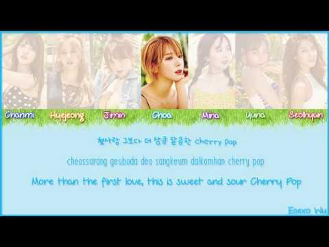 AOA - Cherry Pop Lyrics (Han/Rom/Eng/Color Coded)