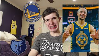 Warriors are good again... WARRIORS VS GRIZZLIES REACTION! LAKERS WARRIORS XMAS DAY