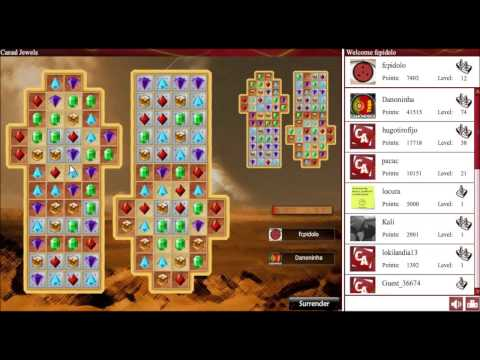 Online multiplayer match-3 game - Casual Jewels