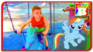 My Little Pony. Fun Outdoor Playground for Kids and Family playlab at Bogdan's Show.