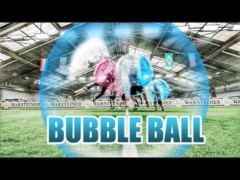 ICH TESTE BUBBLE BALL EXTREM FUSSBALL   TuTo Vlog #027