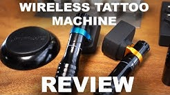 Wireless Scorpion TATTOO machine REVIEW!!