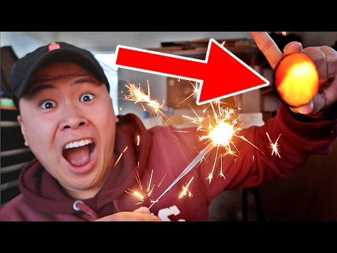 CRAZY SPARKLERS vs EGG EXPERIMENT