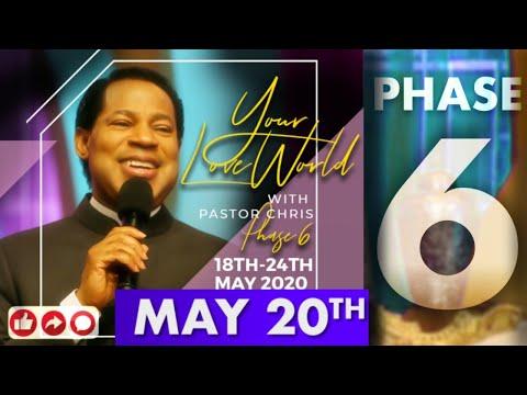Pastor Chris LIVE:: Your LoveWorld PHASE 6 DAY 3