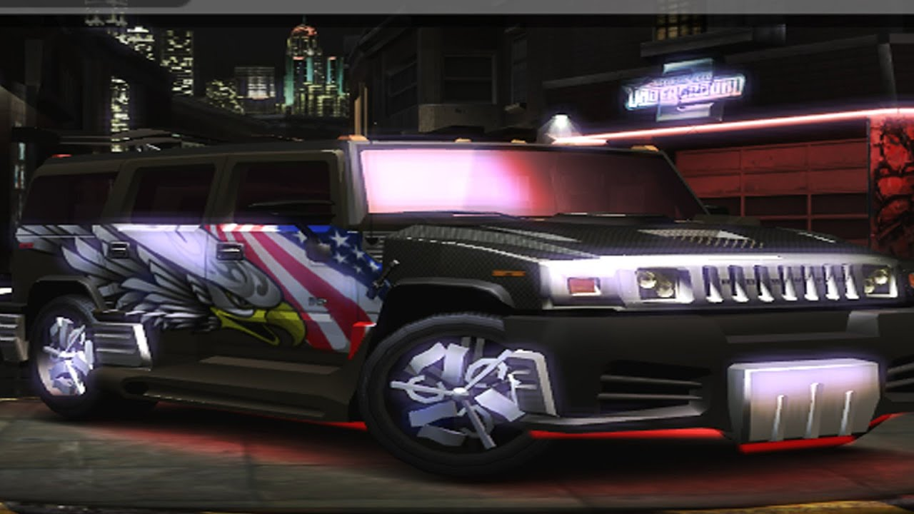 need for speed underground 2 hummer h2 customize car. Black Bedroom Furniture Sets. Home Design Ideas