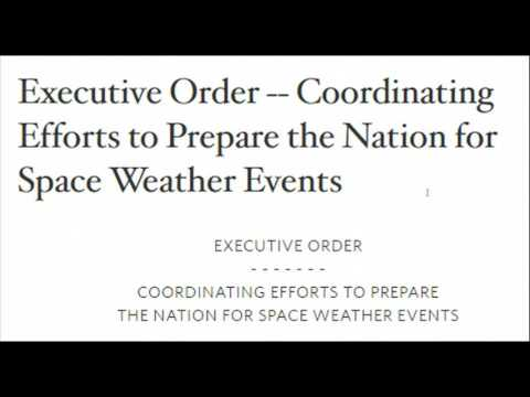 Preparing for Power Grid Collapse, Obama Signs Executive Order On EMP, Space Weather Events