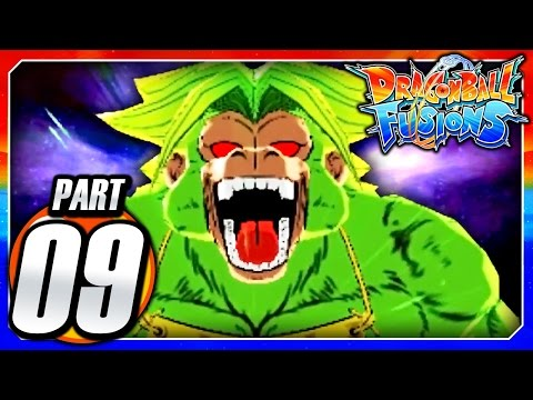 Dragon Ball Fusions 3DS English: Part 9 - Legendary Golden Great Ape Broly! (Broly & Demon Saga)
