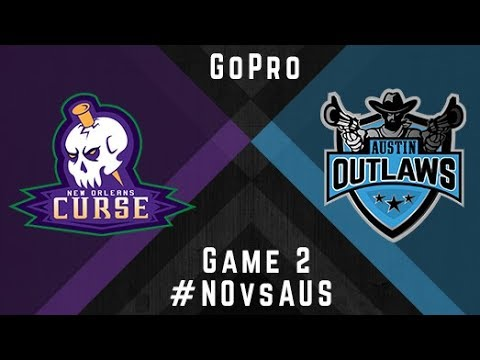 New Orleans Curse v Austin Outlaws - GoPro - Game 2, 2017 ML