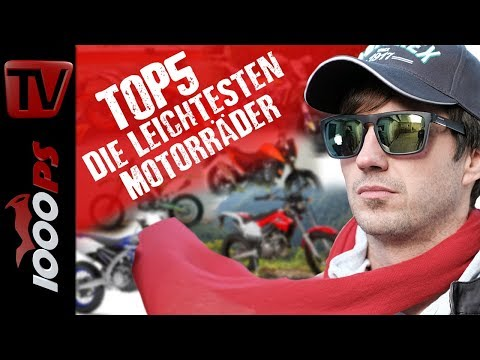 Top 5 - Die leichtesten Motorräder die richtig leiwand fahren