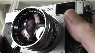 Nikon S3 2000 35mm Rangefinder Film Camera Review / Overview