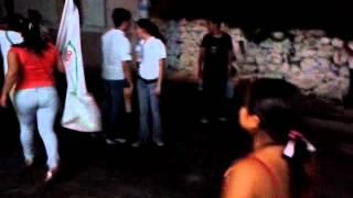 Carnavalito Sigue La N en Dzemul: La Batucada poniendo a bailar a la gente