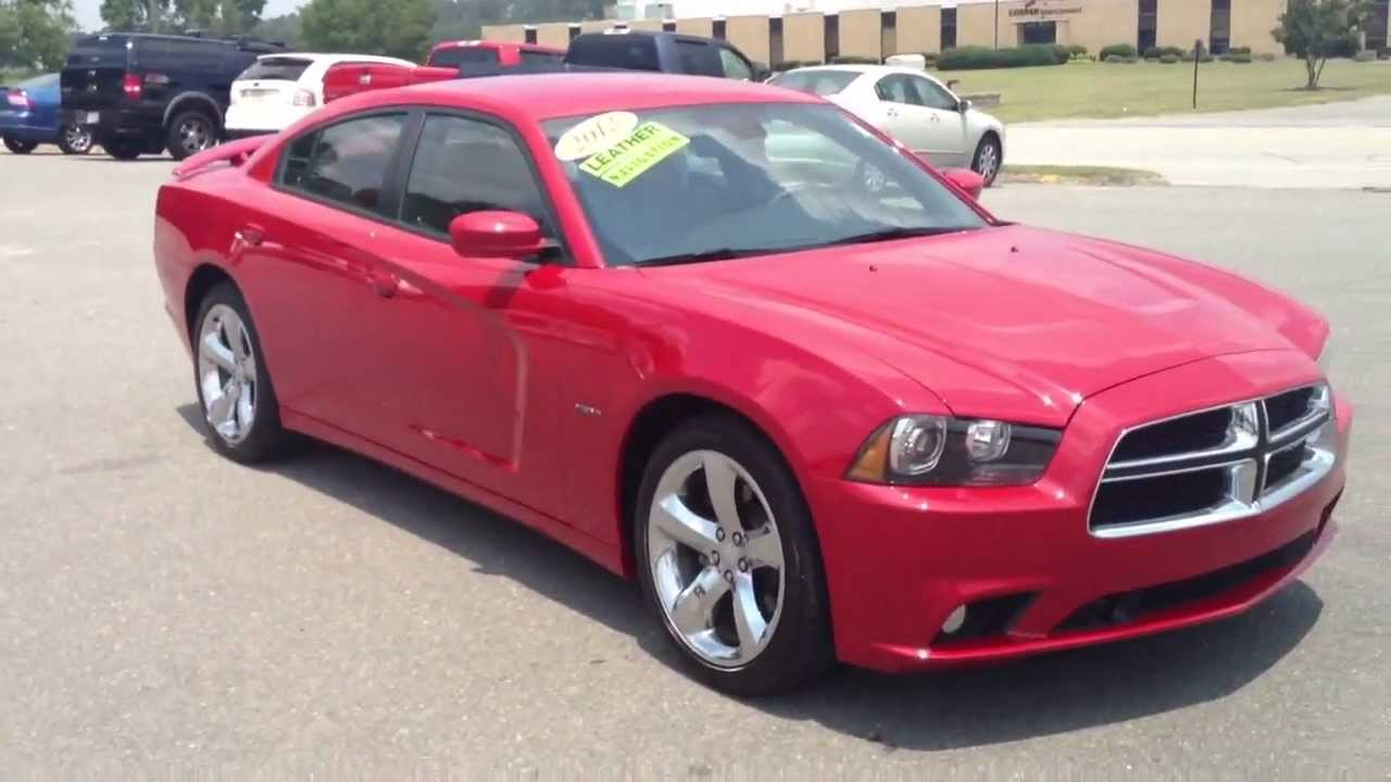 2012 Dodge Charger R T Hemi 5 7 Red For Sale Youtube