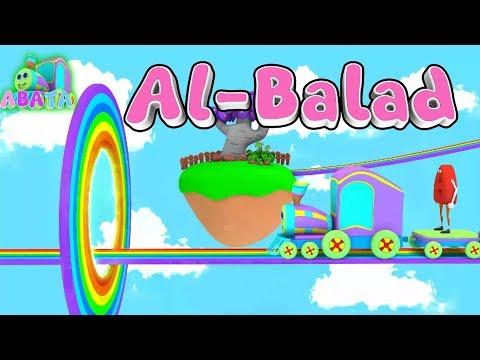 Animation 3D Juz Amma Al Balad Recite Quran Children With Battar Trains Hijaiyah   ABATA Channel