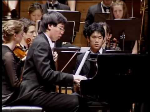 John Chen plays Brahms Piano Concerto No.2 in B-flat major