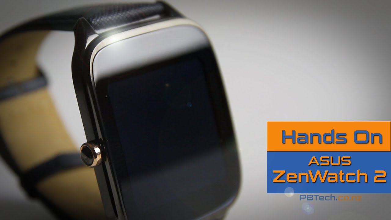 28fdb7bdc Asus ZenWatch 2 - PB Tech Hands on Review (WI501Q-2MGRY0013) - YouTube