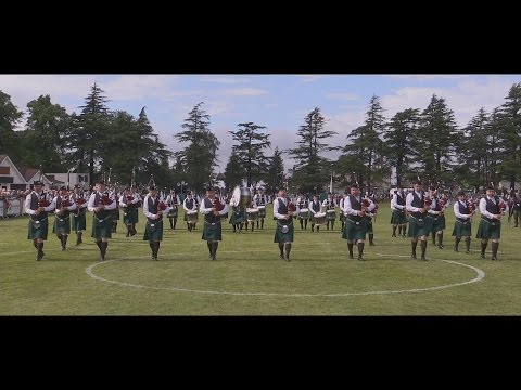 St Laurence O'Toole Pipe Band - 2016 European Champions