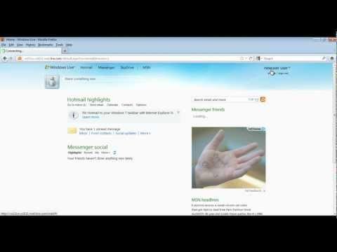 How To Create Windows Live Account