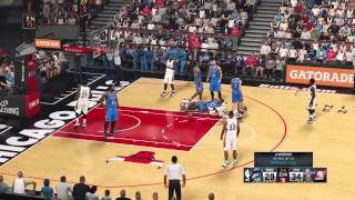 Andrew Wiggins is a Dirty Player: NBA 2k15