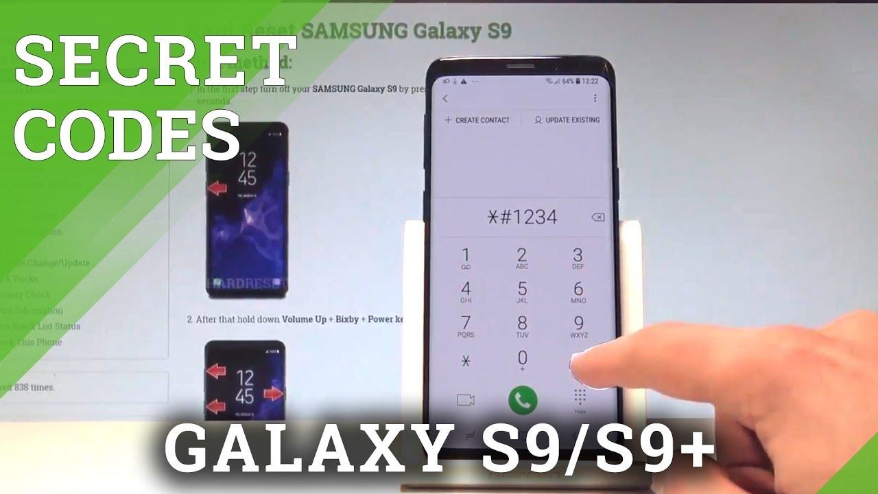 Codes SAMSUNG Galaxy S9 - HardReset info