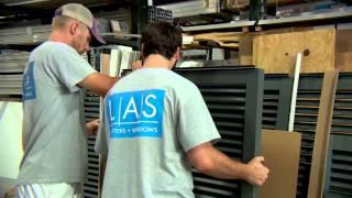 LAS Shutter Manufacturing video