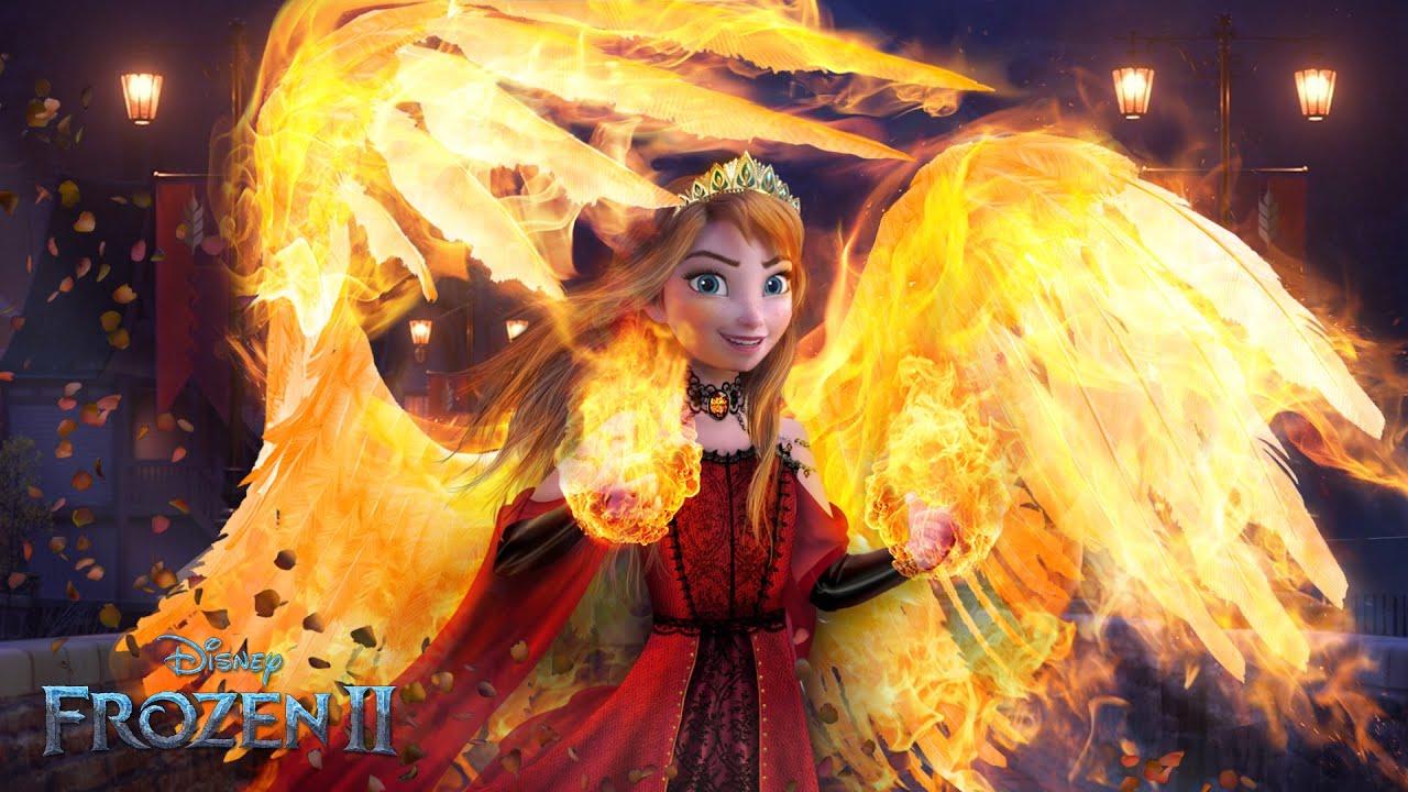 Download Frozen 2: Queen Anna has Fire Powers! Anna's Magic finally awakens! 🔥❤️ Frozen 2 | Alice Edit!
