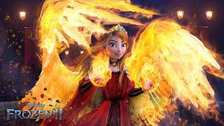 Frozen 2: Queen Anna has Fire Powers! Anna's Magic finally awakens! 🔥❤️ Frozen 2 | Alice Edit!
