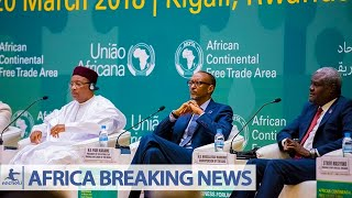 (2nacheki)BREAKINGNEWS: 44 of the 55 African Countries Sign The African Free Trade Deal