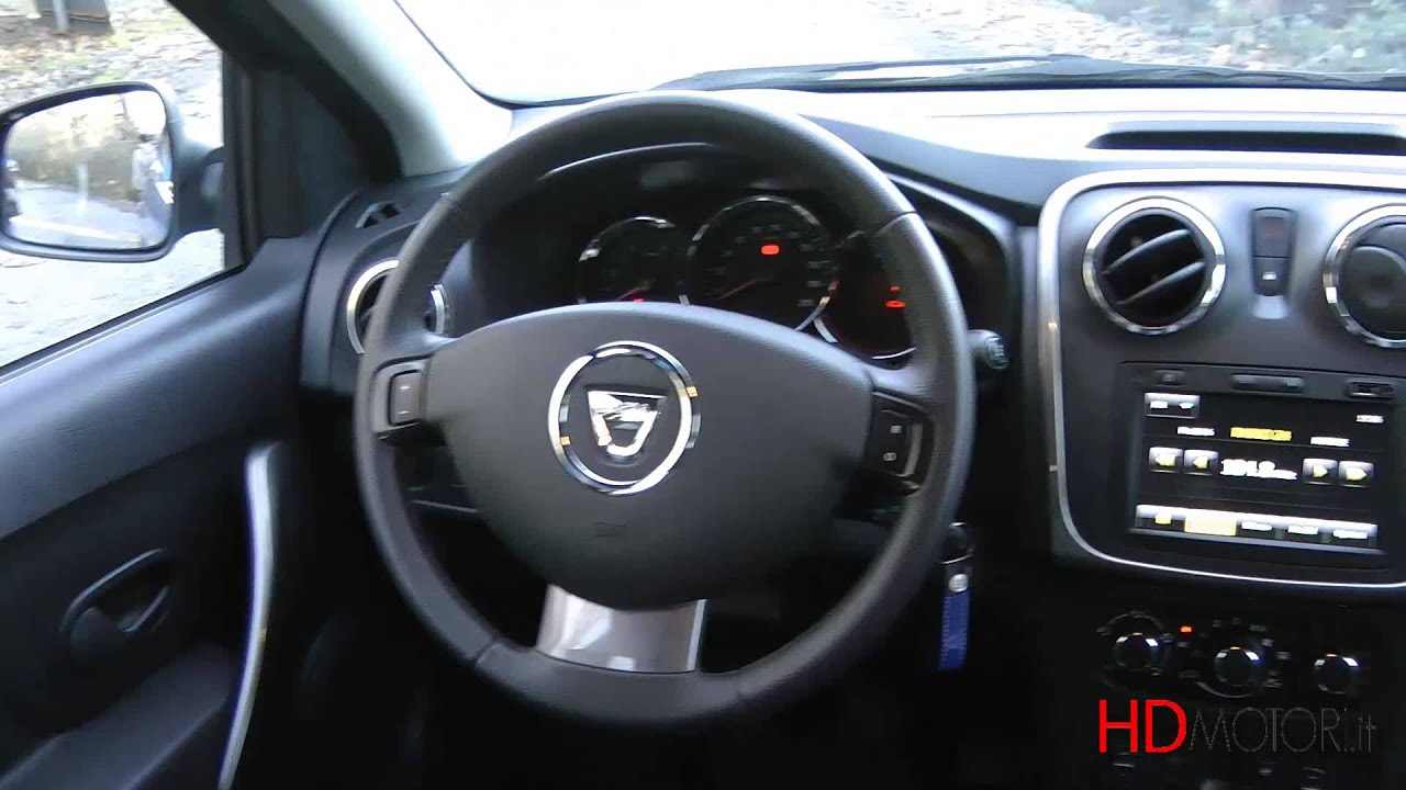 dacia sandero stepway test drive da youtube. Black Bedroom Furniture Sets. Home Design Ideas