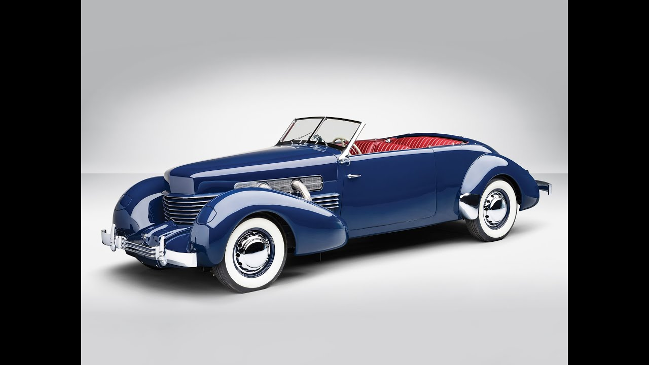 1937 cord 812 supercharged phaeton youtube for Cord motor car for sale