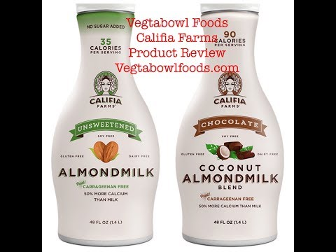 Califia Farms Non-Dairy Milk Product Review:  VTB TV