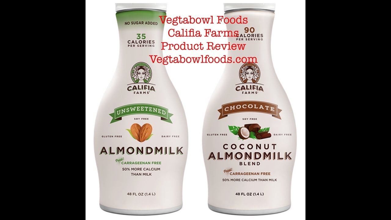 Califia Farms Non-Dairy Milk Product Review: VTB TV