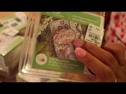 Tuesday Morning Haul: Cricut Cartridges including Anna Griffin